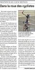 07 avril 2011  Dans la roue des cyclistes