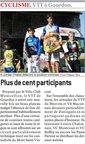 12 avril 2011  VTT à Gourdon