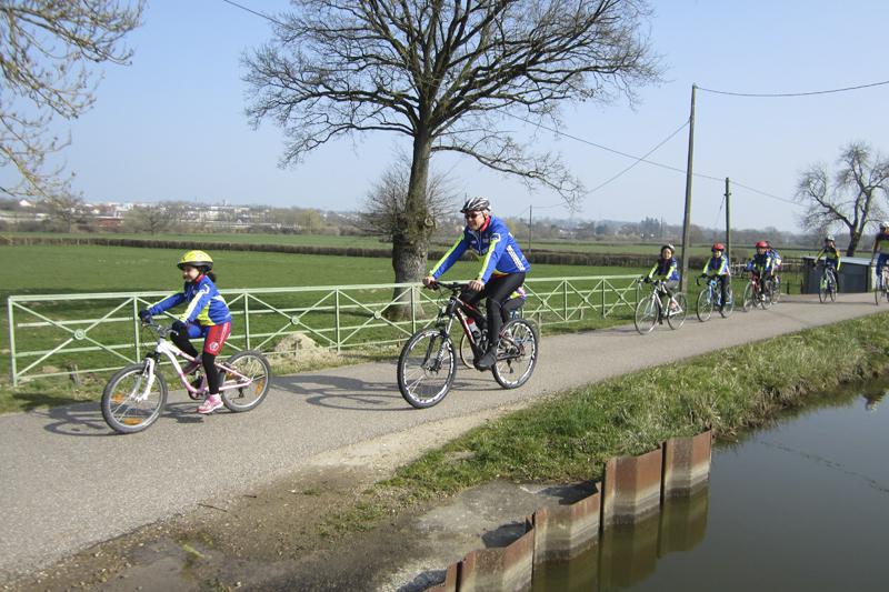 Sortie école de Cyclisme - Paray-le-monial le 7 Mars 2014