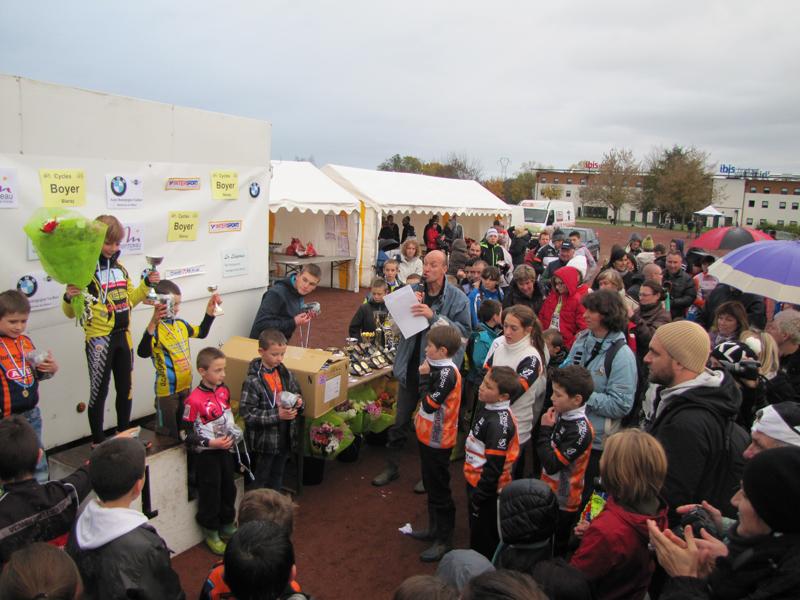Cyclo Cross de Montceau catégorie Poussins