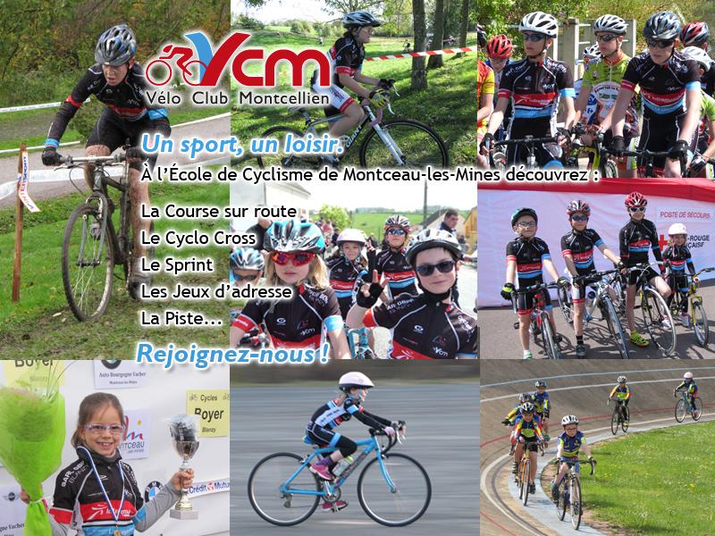 école de cyclisme de Montceau les Mines