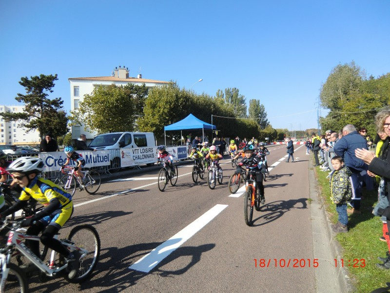 Cyclo cross Chalon 18/10/2015