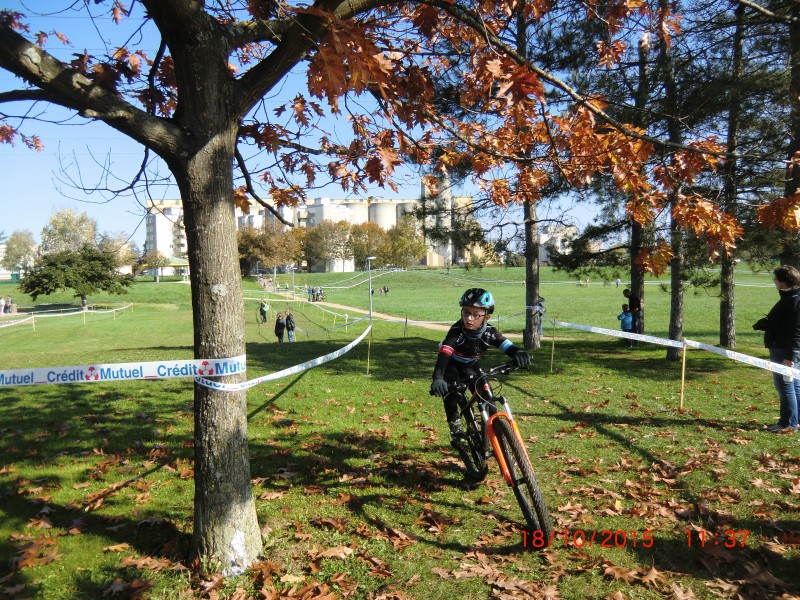 Cyclo cross Chalon 8/10/2015