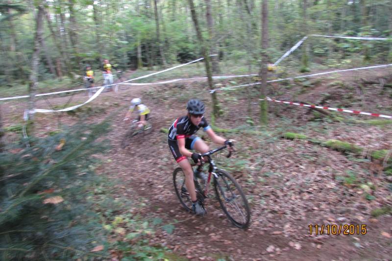Cyclo cross Avallon a bosse