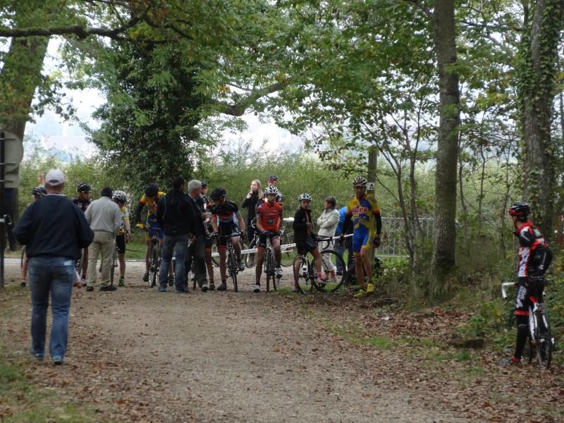 cyclo cross Avallon depart